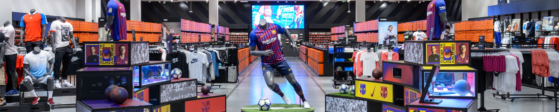 Thinking Big: Delivering Nike's largest factory store in Europe