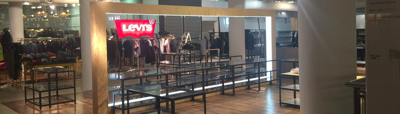 New look for Levi's at Flagship department store
